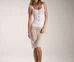 linen skirt
